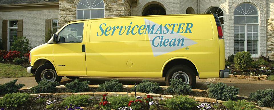 Service Master Clean Van