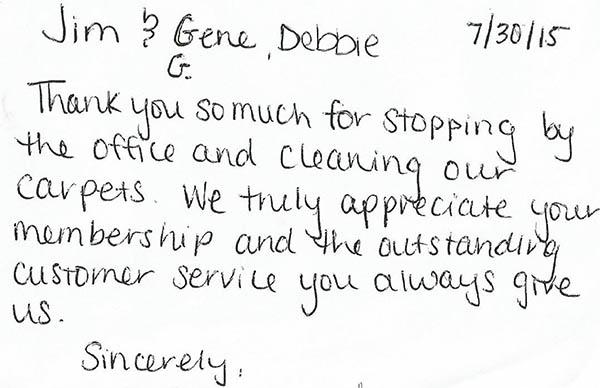 Jim ServiceMaster Testimonial